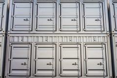 Pila di container Fotografia Stock