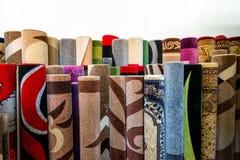 Pila di coperte Immagini Stock