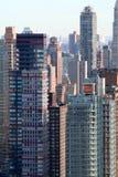 Pila di costruzioni di appartamento immagine stock libera da diritti