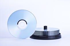 Pila di dischi stampabili Immagini Stock
