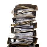 Pila di dispositivo di piegatura Fotografia Stock
