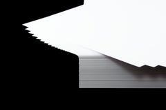 Pila di documento A4 Fotografia Stock Libera da Diritti