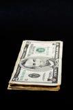Pila di fatture del dollaro Immagine Stock Libera da Diritti