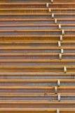 Pila di ferrovia Immagine Stock