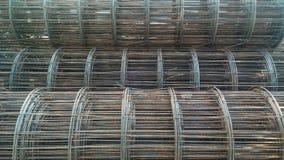 Pila di filo di ferro Fotografia Stock Libera da Diritti