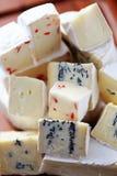 Pila di formaggio fotografie stock libere da diritti