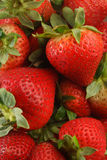 Pila di fragole Immagine Stock