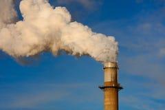 Pila di fumo Immagine Stock