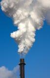 Pila di fumo Fotografia Stock Libera da Diritti
