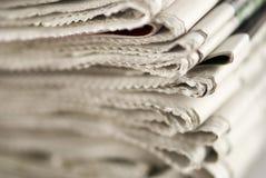 Pila di giornale Immagine Stock