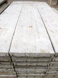 Pila di lastra della costruzione concreta Fotografia Stock