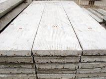 Pila di lastra della costruzione concreta Fotografie Stock Libere da Diritti