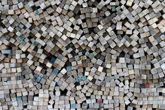 Pila di legname Fotografie Stock Libere da Diritti