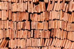 Pila di legname Fotografie Stock