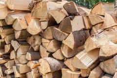 Pila di legno Immagine Stock