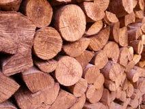 Pila di legno Fotografia Stock Libera da Diritti