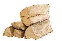 Pila di legno del fuoco Immagini Stock