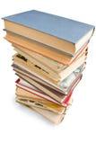 Pila di libri. Fotografia Stock