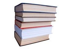 Pila di libri. Immagine Stock