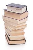 Pila di libri fotografie stock
