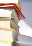 Pila di libri 2 fotografia stock