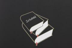 Pila di libri royalty illustrazione gratis