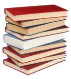 Pila di libri Immagini Stock