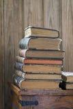 Pila di libri Fotografia Stock Libera da Diritti