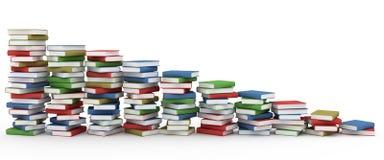 Pila di libri illustrazione vettoriale