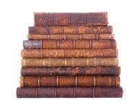 Pila di libri antichi Fotografie Stock