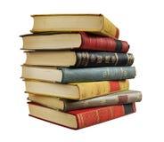 Pila di libri dell'annata Immagine Stock
