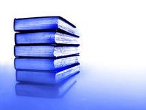 Pila di libri di affari Fotografie Stock