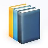 Pila di libri di colore Fotografia Stock Libera da Diritti