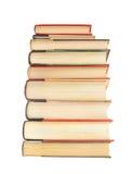 Pila di libri di hardcover Fotografie Stock