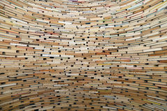 Pila di libri molto grande Immagini Stock