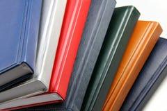 Pila di libri variopinti Fotografia Stock