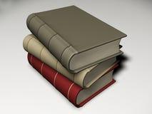 Pila di libro Immagini Stock Libere da Diritti