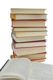 Pila di libro Fotografie Stock Libere da Diritti
