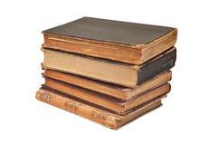 Pila di libro antica Fotografie Stock Libere da Diritti