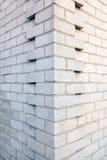 Pila di mattoni bianchi Fotografie Stock Libere da Diritti