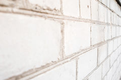 Pila di mattoni bianchi Immagine Stock