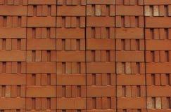 Pila di mattoni dell'argilla rossa Immagine Stock Libera da Diritti