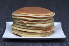 Pila di pancake Immagine Stock Libera da Diritti