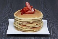 Pila di pancake Immagine Stock