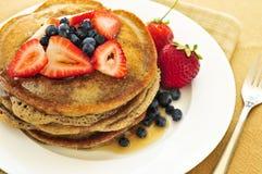 Pila di pancake Immagini Stock Libere da Diritti