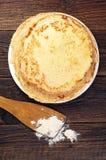 Pila di pancake squisiti Immagine Stock Libera da Diritti