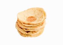 Pila di pane di pita Fotografia Stock Libera da Diritti
