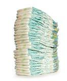 Pila di pannolini Fotografia Stock