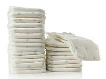Pila di pannolini Fotografie Stock Libere da Diritti