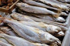 Pila di pesci salati immagine stock libera da diritti